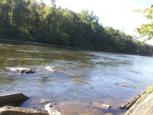 river-bath
